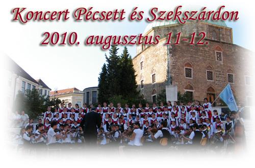 Fili koncert Pecsen 2010
